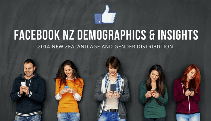 2014 Facebook NZ demographics and insights