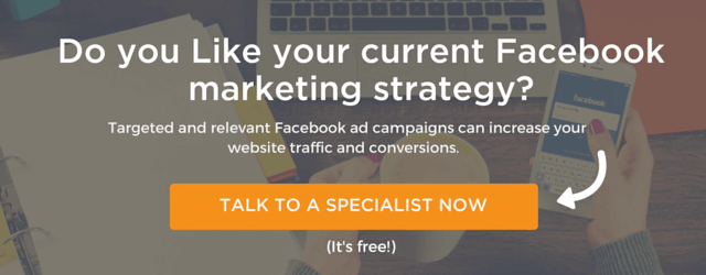 Talk to a specialist at FIRST on Facebook advertising
