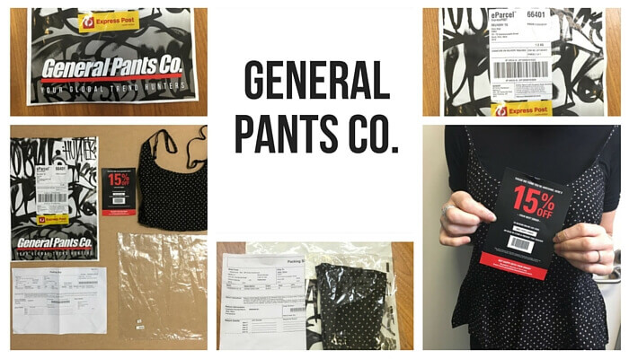 General Pants Co Post-purchase