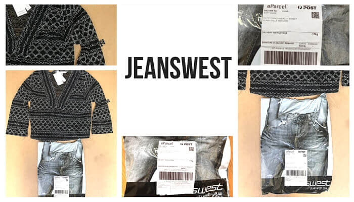Jeanswest post purchase experience