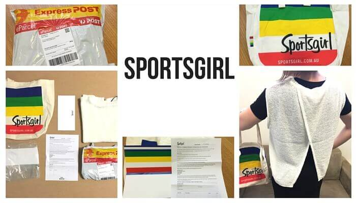 Sportsgirl post purchase experience