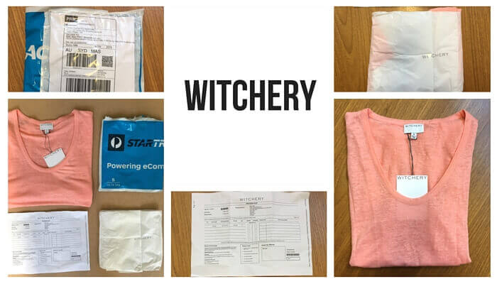 Witchery post purchase experience